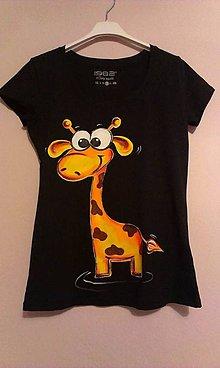 Tričká - Žirafka Žofka - 5873348_