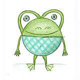 Kresby - Guľkáč - žabka - 5871649_