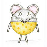 Kresby - Guľkáč - myš - 5874307_