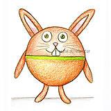 Kresby - Guľkáč - zajačik - 5874488_