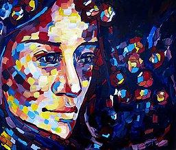 Obrazy - Bez slov - obraz na stenu, maľba, originál - 5876673_