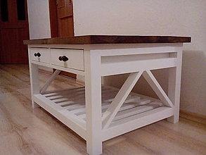 Nábytok - Stolík so zásuvkami - 5878725_