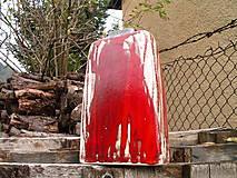 """Dekorácie - váza ohnivo červená """"Láva IV """" - 5877346_"""