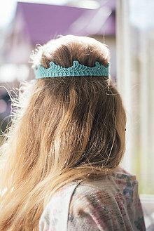 Ozdoby do vlasov - Korunka pre princeznu - 5877836_
