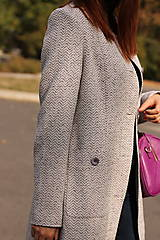 Kabáty - Jesenný kabát - 5877931_