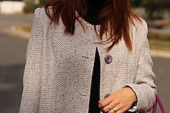 Kabáty - Jesenný kabát - 5877932_