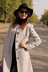 Kabáty - Jesenný kabát - 5877933_