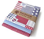 Textil - Bavlnené látky - balíček TFQ052 - 5876764_