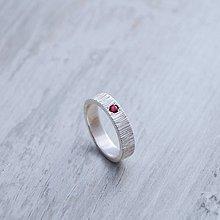 Prstene - Prsteň s rubínom - 5882922_