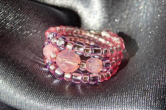 """Prstene - Prstienok ružový - """"V ružovom opare"""" - 5882707_"""