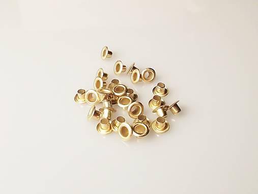 Priechodky zlaté 10/5mm