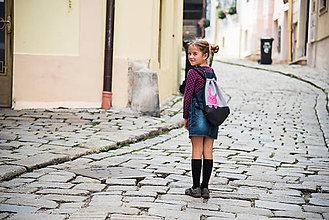 Detské tašky - Batoh zajko PINK - 5879622_