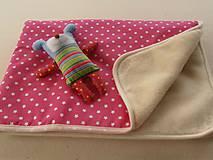 Textil - MERINO blanket De Luxe Star pink - 5882932_