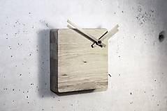 Hodiny - Block clock - stolové/nástenné hodiny - 5879989_