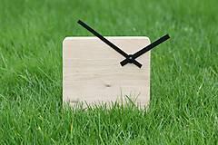 Hodiny - Block clock - stolové/nástenné hodiny - 5879990_