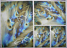Textil - Panel dizajnový Crystal Tiamin 2 (20x30cm) - 5882673_