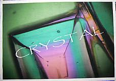 Textil - Panel dizajnový Crystal Green - 5882739_