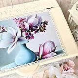 Krabičky - Krása magnólie - 5882038_