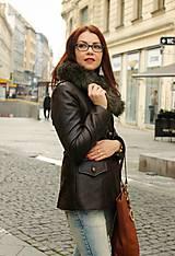Kabáty - Hnedá bunda - 5881780_