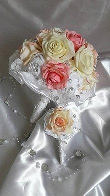 Kytice pre nevestu - Z ruží II. - 5880567_