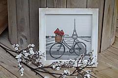 Obrázky - Obrázok Bicykel s červenými ružami - 5884281_