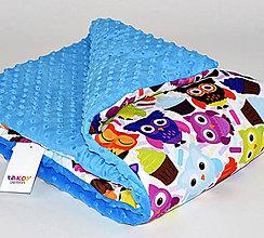 Textil - Dizajnová prikrývka Takoy 75x100 - mat 307/15 do postieľky, kočíka - 5884531_