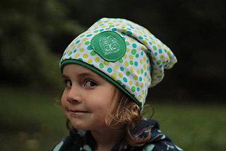 Detské čiapky - So srdiečkom - 5886757_