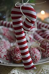 Dekorácie - Sada vianočná bordová - 5884836_