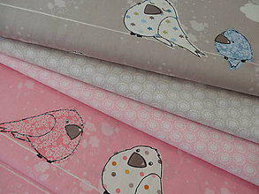 Textil - bavlnené látky -Francúzko šírka 160 cm - 5886555_