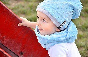 Detské súpravy - zimný set s odopínacím brmbolcom ...alebo farbu si vyber! - 5886234_