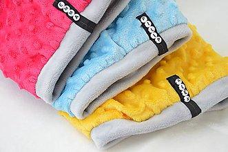 Detské čiapky - zimná čiapka s odopínacím brmbolcom...alebo farbu si vyber! - 5886328_