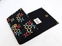 Peňaženky - Tetris - peněženka i na karty, 13 cm - 5885660_