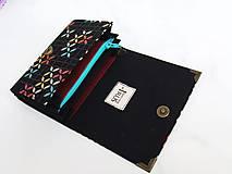 Peňaženky - Tetris - peněženka i na karty, 13 cm - 5885663_