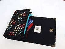 Peňaženky - Tetris - peněženka i na karty, 13 cm - 5885665_