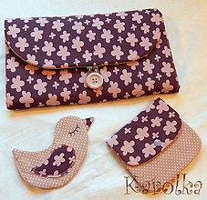 Textil - Taška na prebaľovanie Viki - prebaľovacia sada - 5890021_
