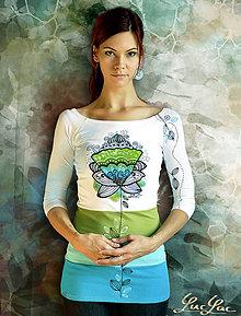 Tričká - CupCake tričko plus náušnice (sada) - 5887962_