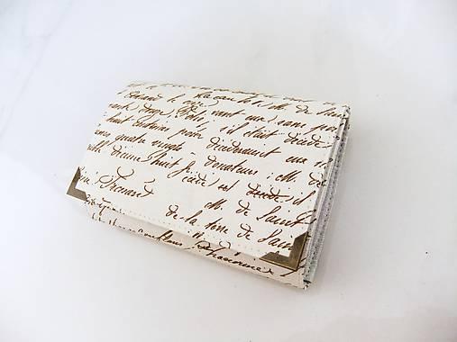 Já píši Vám - peněženka i na karty 13 cm