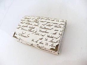 Peňaženky - Já píši Vám - peněženka i na karty 13 cm - 5890314_