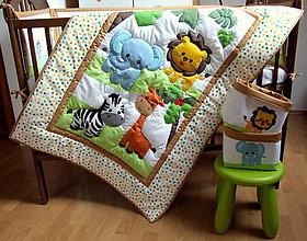 Textil - Safari v postieľke - sada - 5887698_