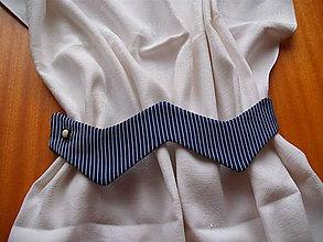 Úžitkový textil - Vlnovka - putá na závesy - 5889074_