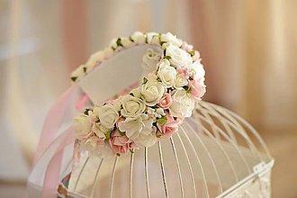 Ozdoby do vlasov - parta na čepčenie by michelle flowers - 5891850_