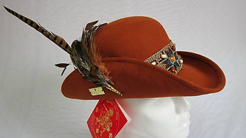 f42d7ca96d25 Dámsky exkluzívny poľovnícky klobúk (15PDL33)   LucaDellaRocca ...