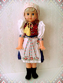 Bábiky - Krojovaná bábika - 5894832_