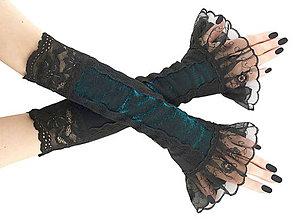 Rukavice - Dámské spoločenské  rukavice , návleky 0500 - 5898179_