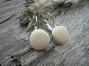 Náušnice - Náušnice buttonkové Klasik - 5898005_