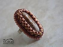Prstene - Jarka - prsteň s jaspisom - 5897196_