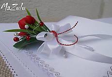 - svadobné pierko v červenom III. - 5895632_