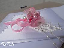 Pierka - svadobné pierko v ružovom - 5895653_