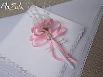 Pierka - svadobné pierko v ružovom - 5895658_