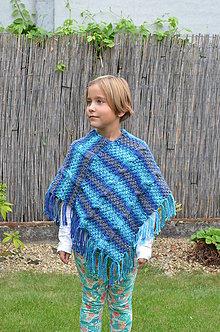 Detské oblečenie - Skladom- detské pončo - 5895555_